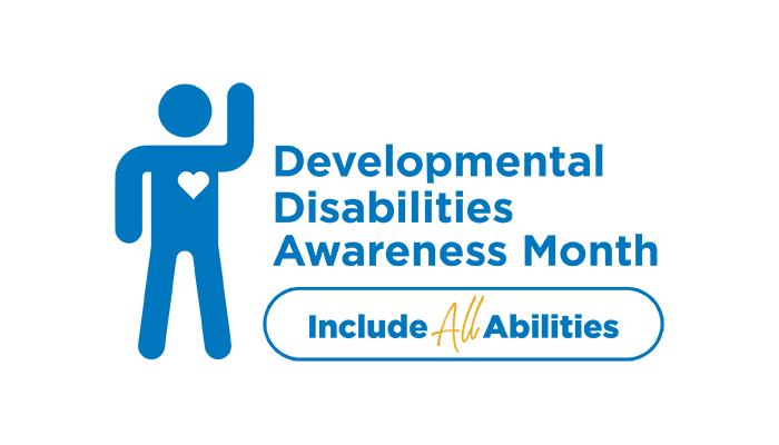 Symbol for Developmental Disability Awareness Month