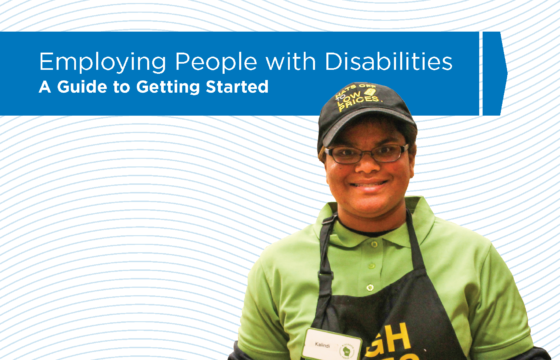 Cover Image - Employing People with Disabilities