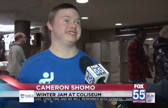 WFFT Fox55 Interview at Winter Jam