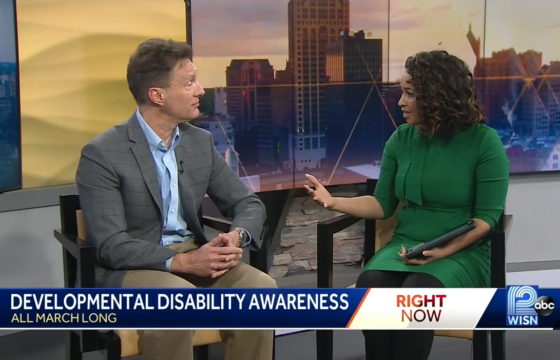 Developmental Disabilities Awareness Month WISN Interview