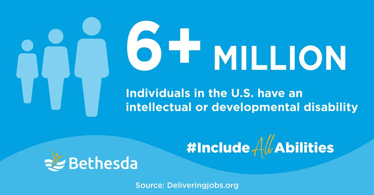 Infographic - Over 6 million individuals in the U.S. have an intellectual or developmental disability